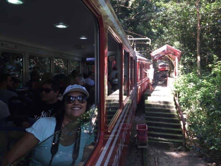 Itinerário do Trem do Corcovado.
