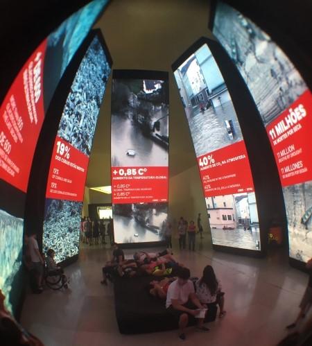Museu do Amanhã: Antropoceno.