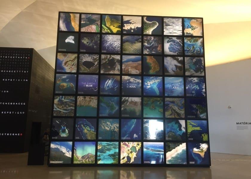 Museu do Amanhã: Cubo da Matéria.