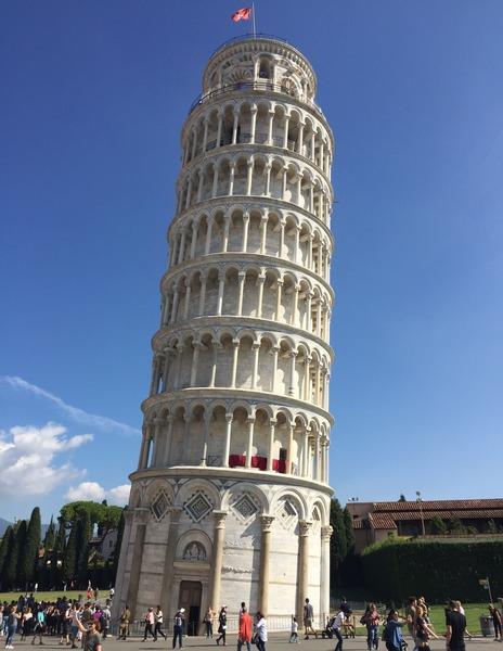Pisa em bate e volta de Florença: Torre de Pisa.