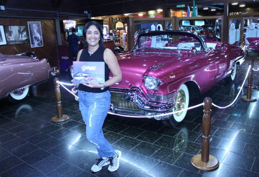 Cadillac Biarritz Eldorado 1957 do Hollywood Dream Cars de Gramado.