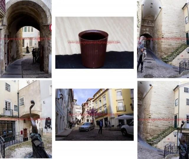Arco de Almedina A cidade universitária de Coimbra