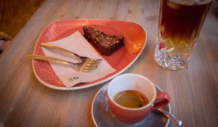Um delicioso café no Heimathaven