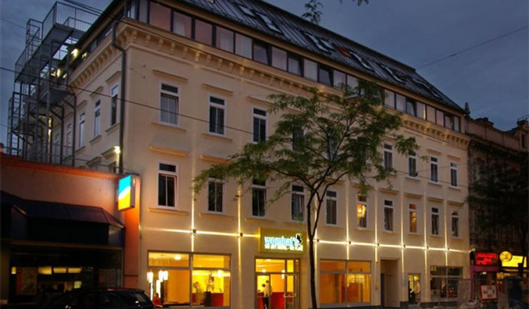 O Hostel Wombats The Lounge em Viena