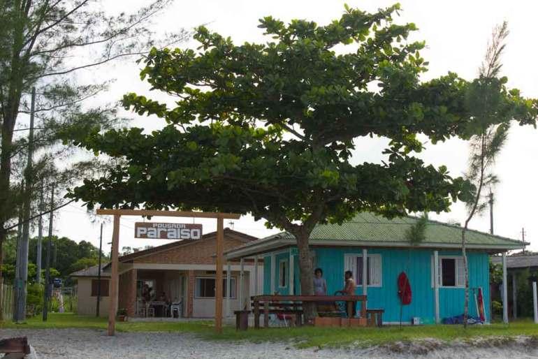 pousada paraiso na ilha de Superagui