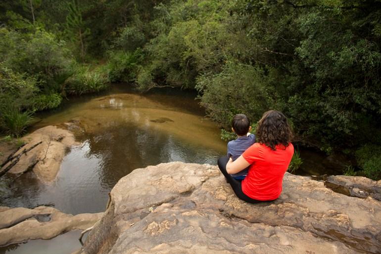 Cachoeira do Rincão no Hotel Fazenda Itáytyba em Tibagi