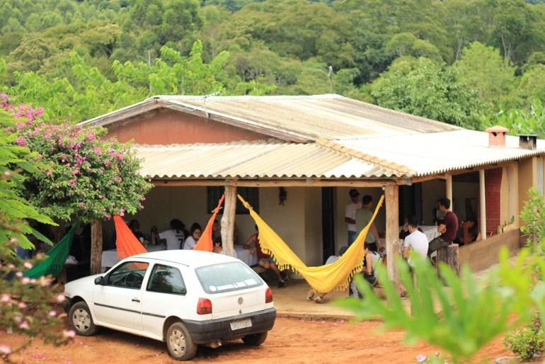 Sítio Santo Antônio em Faxinal.
