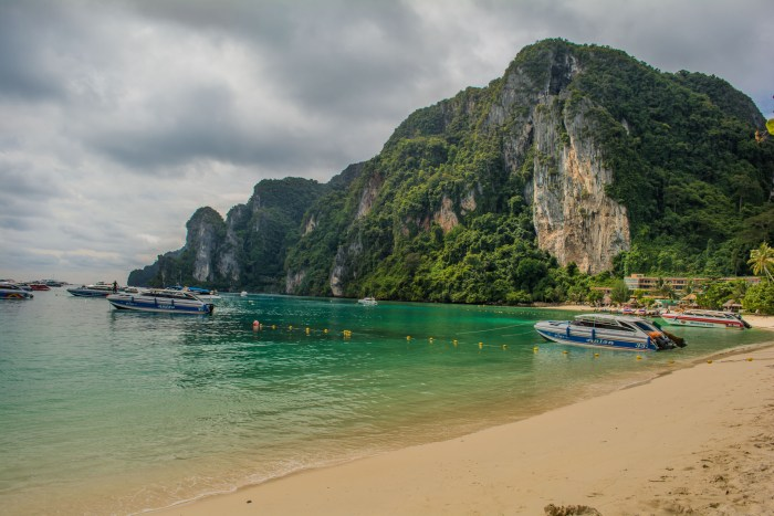 Vista do Pier de Koh Phi Phi