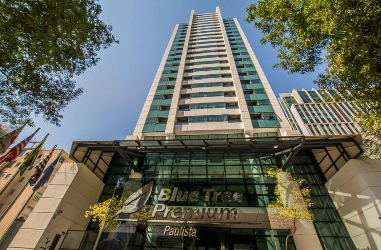 Hotel em São Paulo e próximo da Avenida Paulista