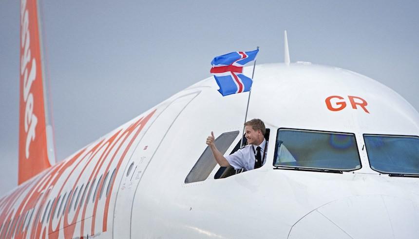 easyjet islenski fani
