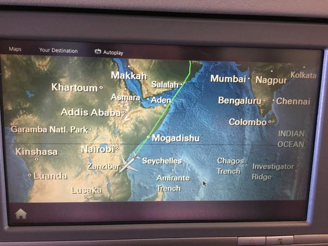 Africa - flight info