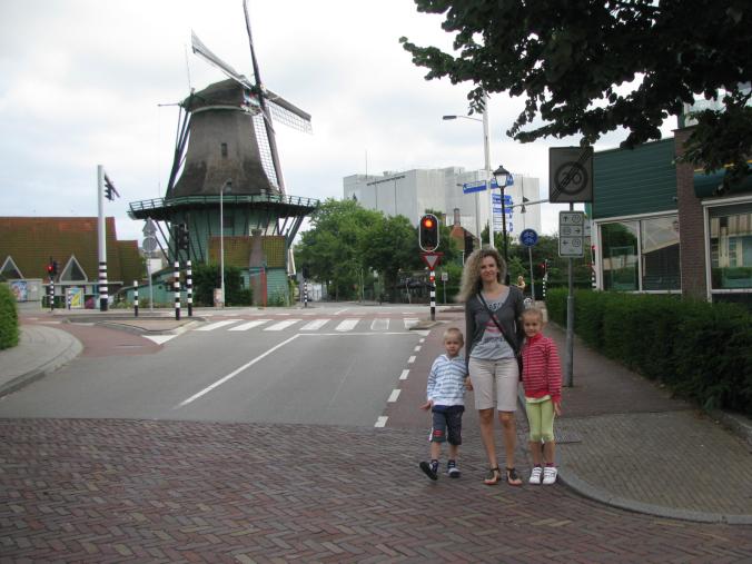 Amsterdam - zaanse schans mill