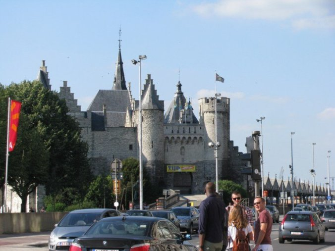 Anvers - steen castle