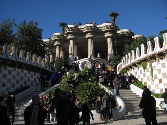 Barcelona - guell park
