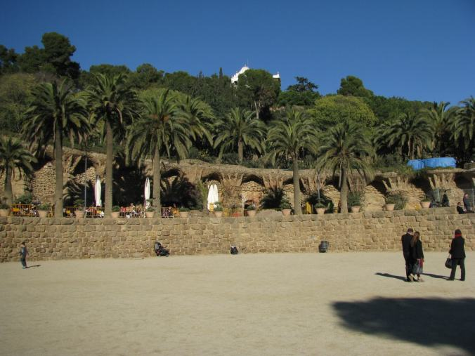 Barcelona - guell park1
