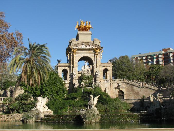 Barcelona - parc de la ciutadella