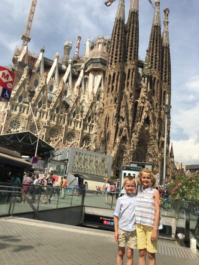 Barcelona - sagrada famiglia