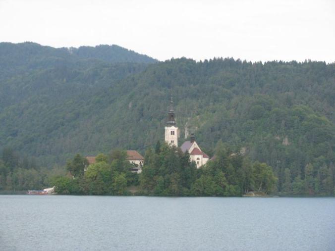 Bled - lake island