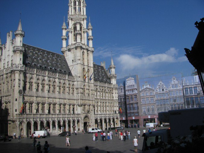 Bruxelles - central square