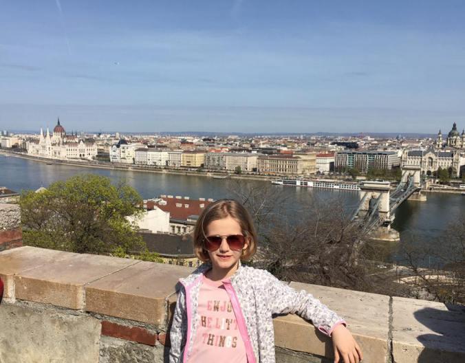 Budapesta - danube view