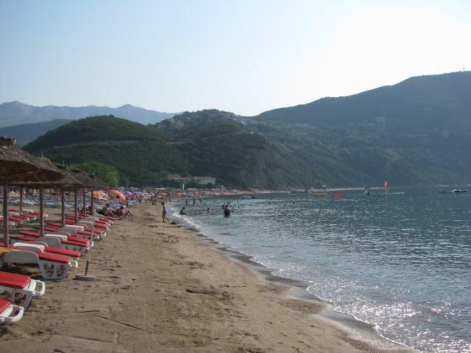 Budva - jaz beach
