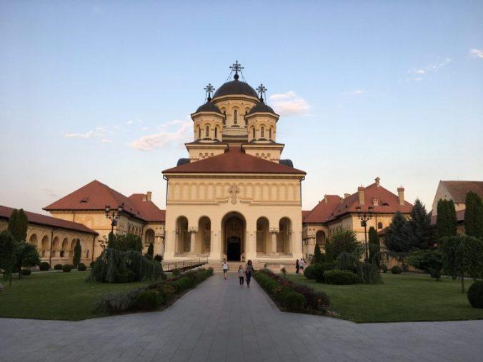 Cetatea Alba-Iulia - catedrala unirii