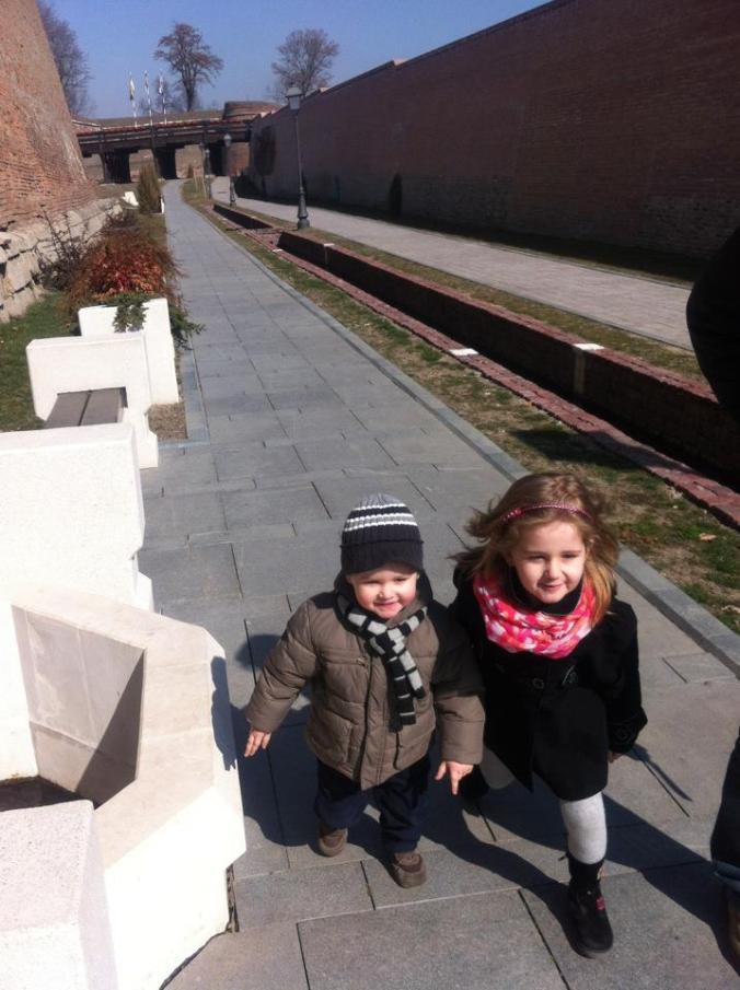 Cetatea Alba-Iulia - city walls