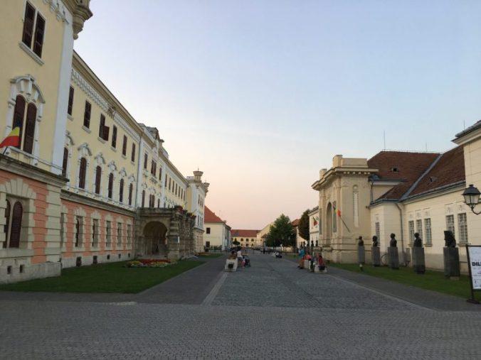 Cetatea Alba-Iulia - sala unirii