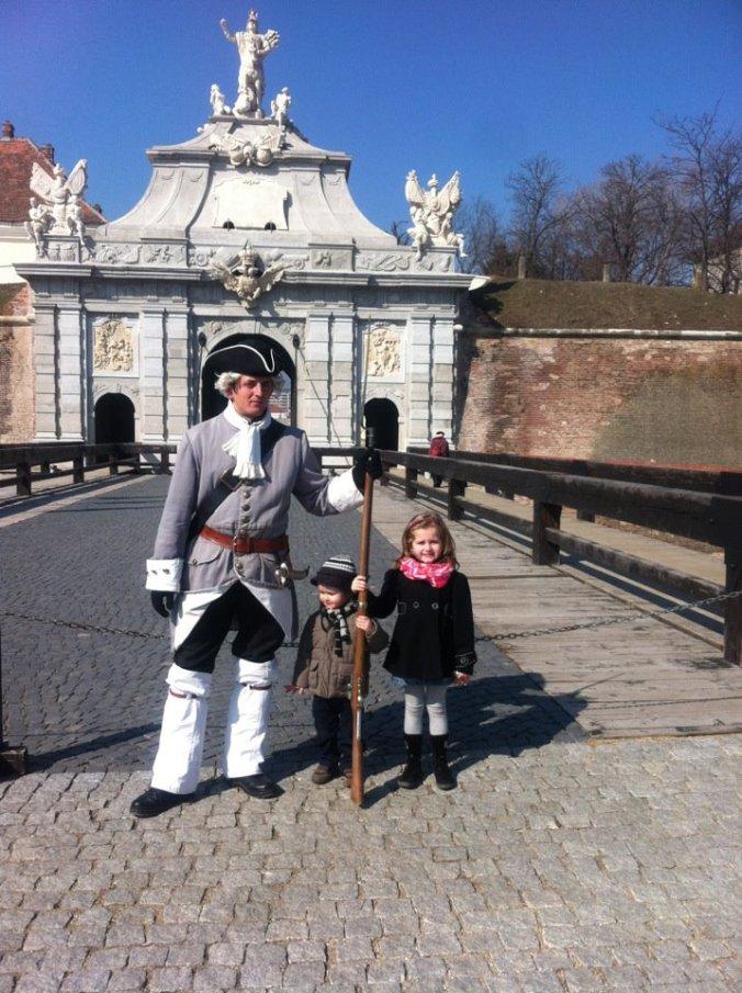 Cetatea Alba-Iulia - soldier1