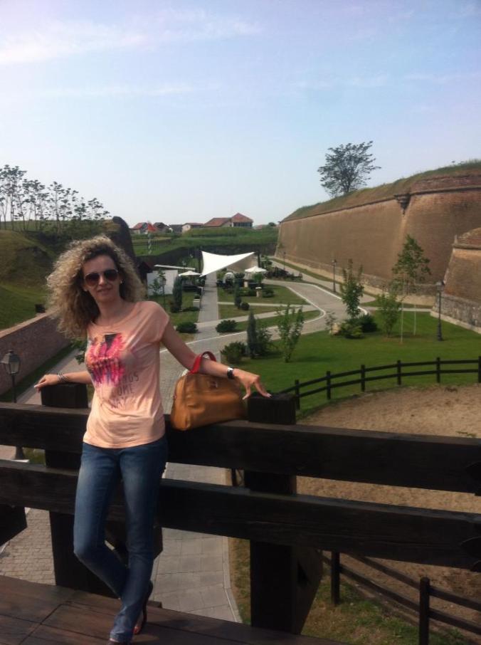 Cetatea Alba-Iulia - walls1