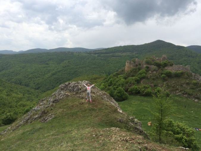 Cetatea Liteni - panoramic view