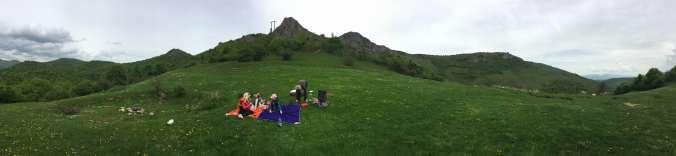 Cetatea Liteni - picnic