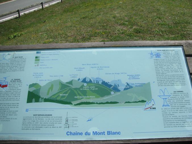 Chamonix Mont-Blanc - map