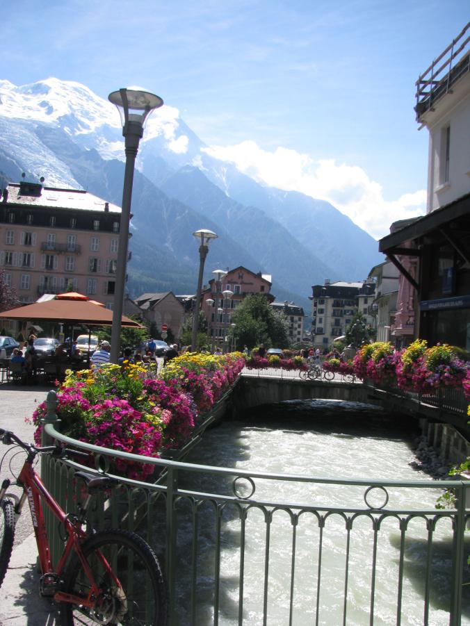 Chamonix Mont-Blanc - river