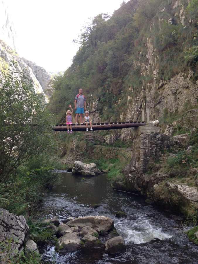 Cheile Turzii - bridge