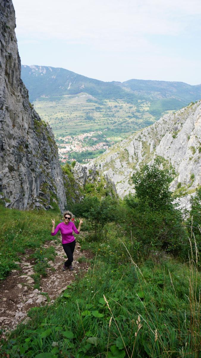 Coltesti - climb