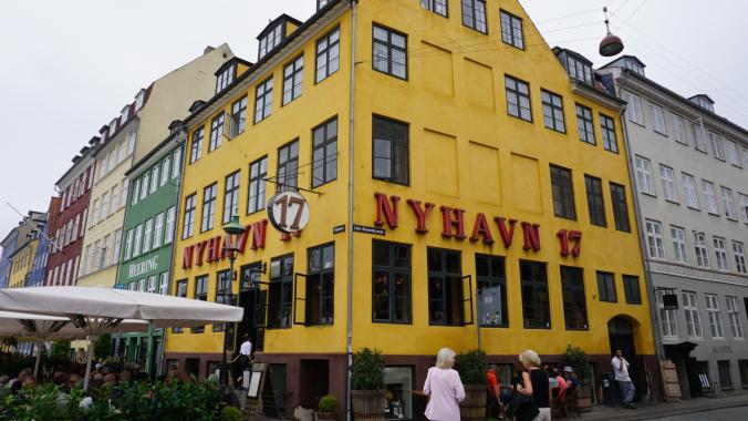Copenhaga - nyhavn houses