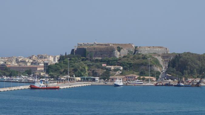 Corfu - old fortress