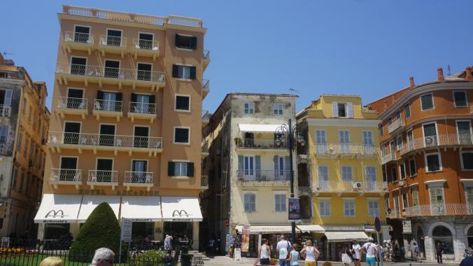 Corfu - old town