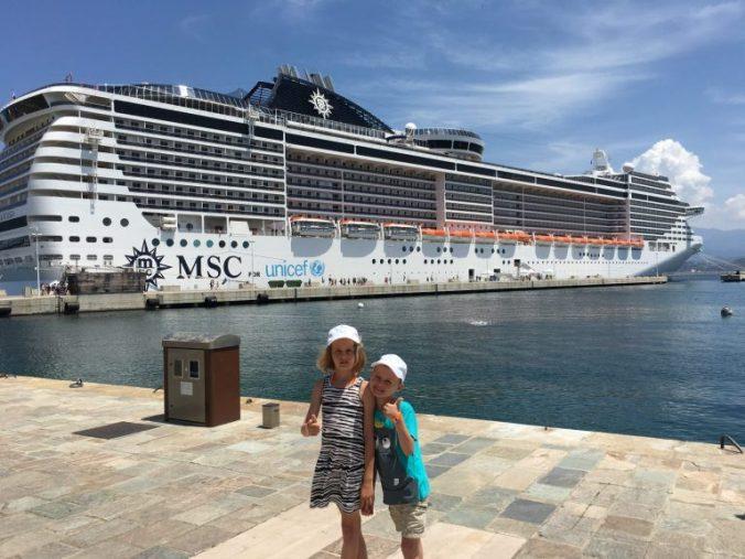 Corsica - msc fantasia