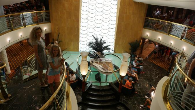 Croaziera pe Mediterana - deck