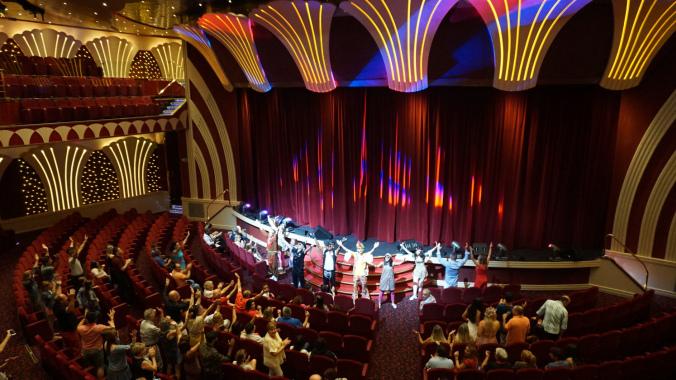 Croaziera pe Mediterana - theatre