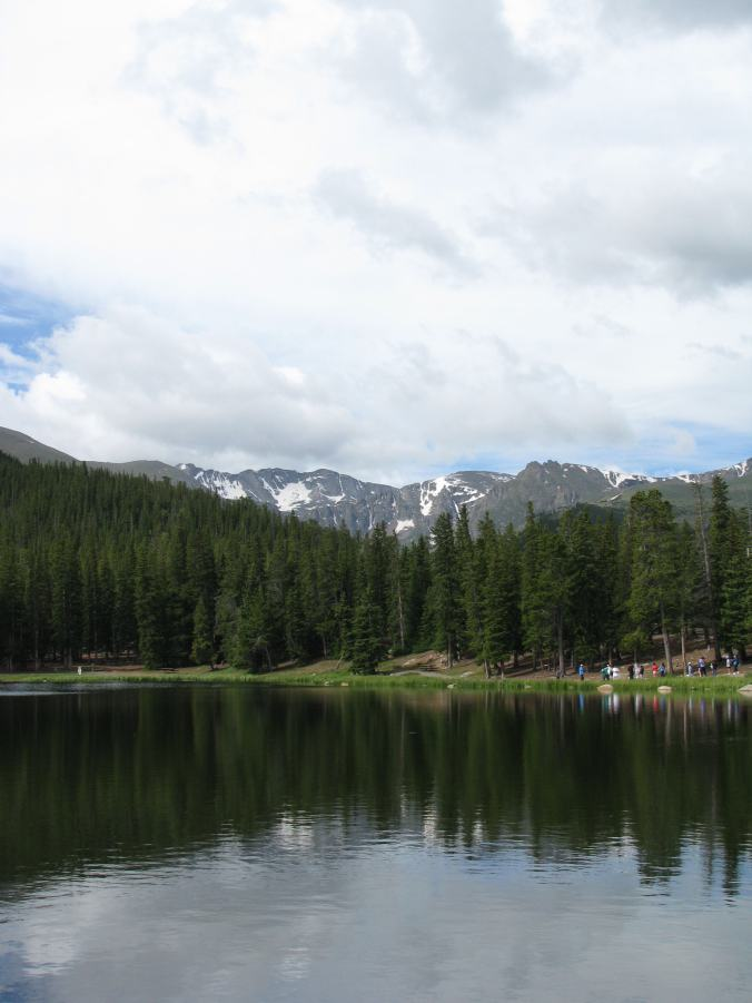 Denver - mount evans lake