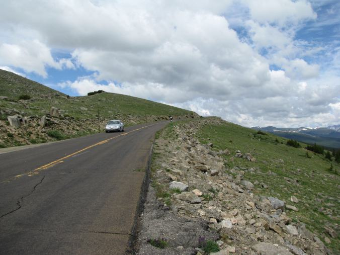 Denver - mount evans road
