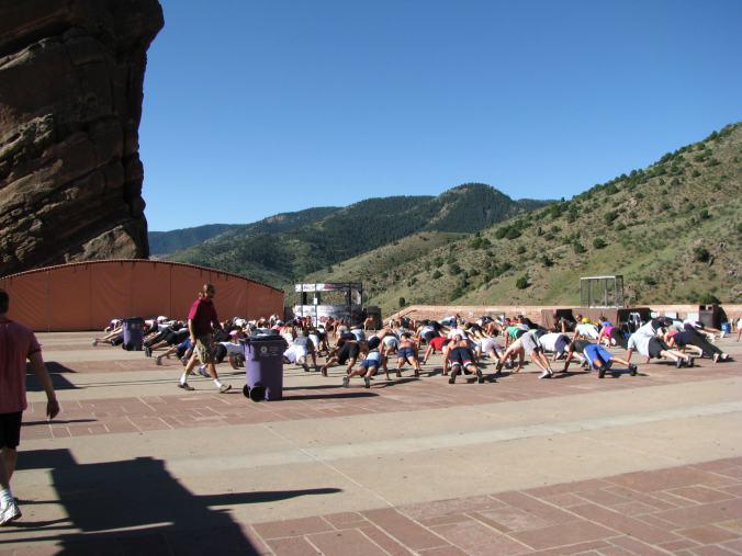 Denver - red rock training