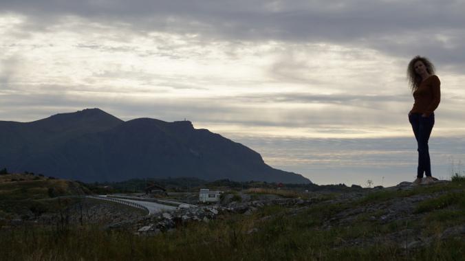 Drumul Atlanticului - sunset