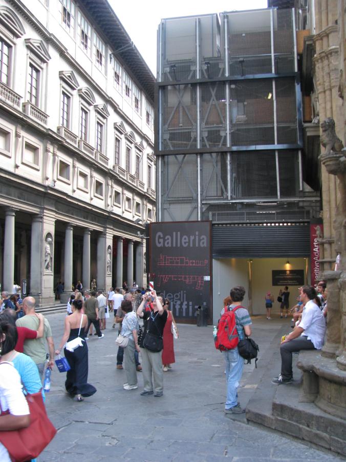 Florenta - uffizi
