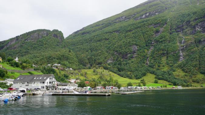 Geiranger - port view