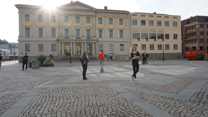 Goteborg - gustav adolf square