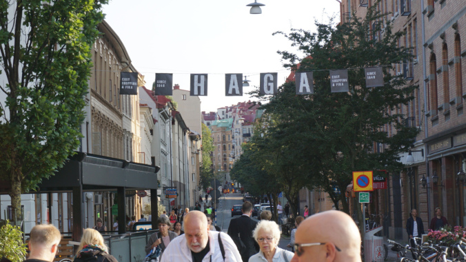 Goteborg - haga district